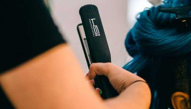 HSI - the best straightener for curly hair